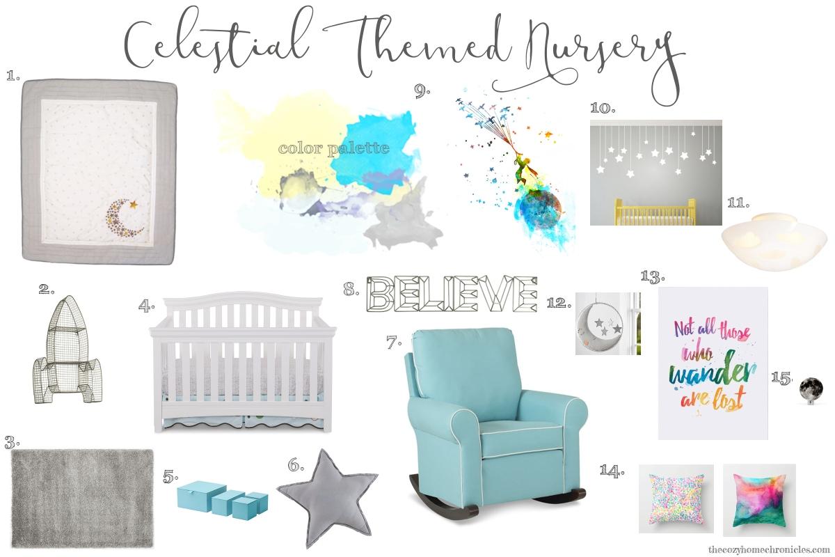 celestial themed nursery
