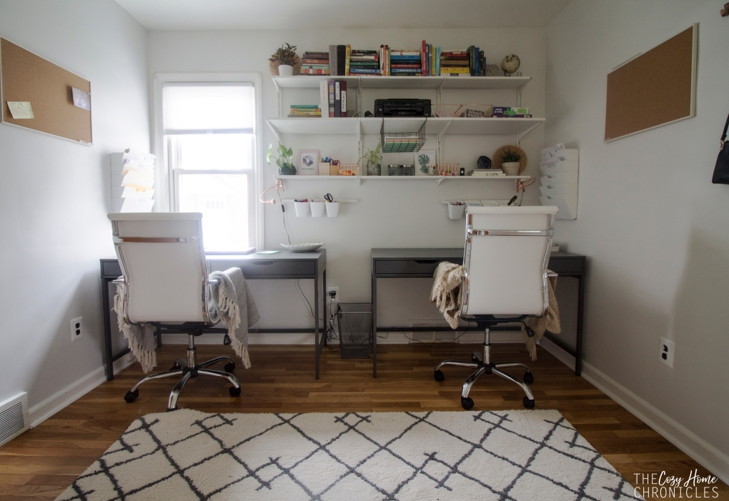 Simple Office Decor The Cozy Home Chronicles