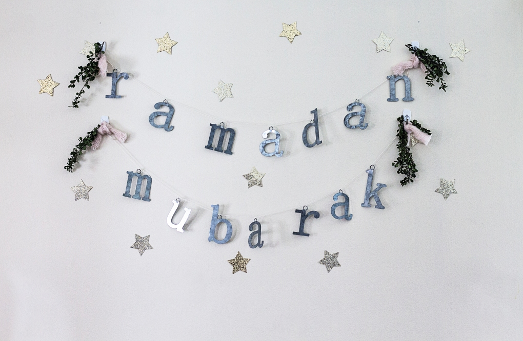 Our Diy Ramadan Ramadan Banner Tablescape Inspiration The Cozy