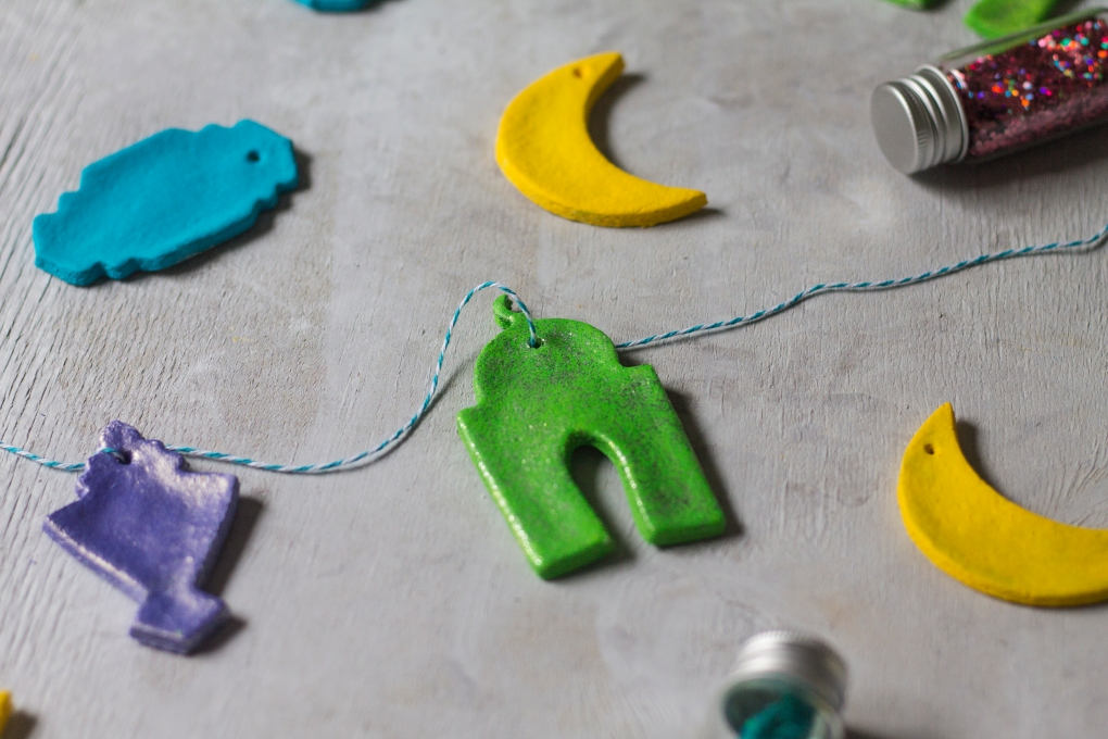 Diy Ramadan Salt Dough Ornaments The Cozy Home Chronicles